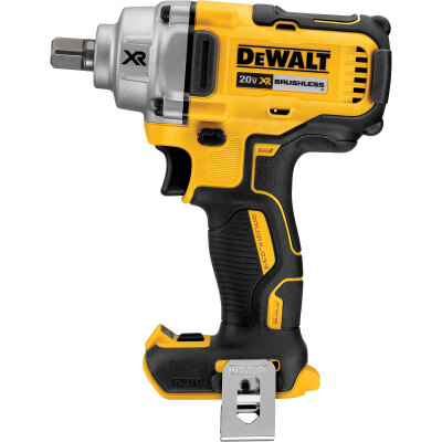 DeWalt 20 Volt MAX XR Lithium-Ion Brushless 1/2 In. Mid-Range Cordless Impact Wrench (Bare Tool)