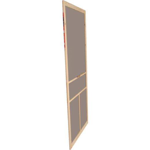 Snavely Kimberly Bay 36 In. W. x 80 In. H. x 1 In. Thick Natural Fingerjoint Pine Wood T-Bar Screen Door