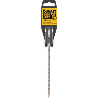 DeWalt SDS-Plus 1/4 In. x 8-1/2 In. 2-Cutter Rotary Hammer Drill Bit