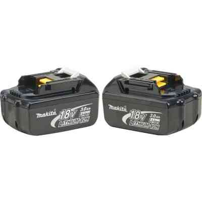 Makita 18 Volt LXT Lithium-Ion 3.0 Ah Tool Battery (2-Pack)
