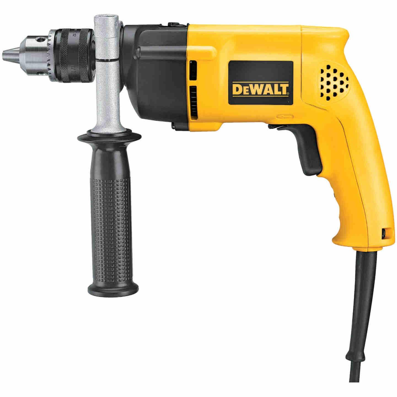 DeWalt 1/2 In. Keyed 8.5-Amp VSR Single-Speed Electric Hammer Drill Image 1