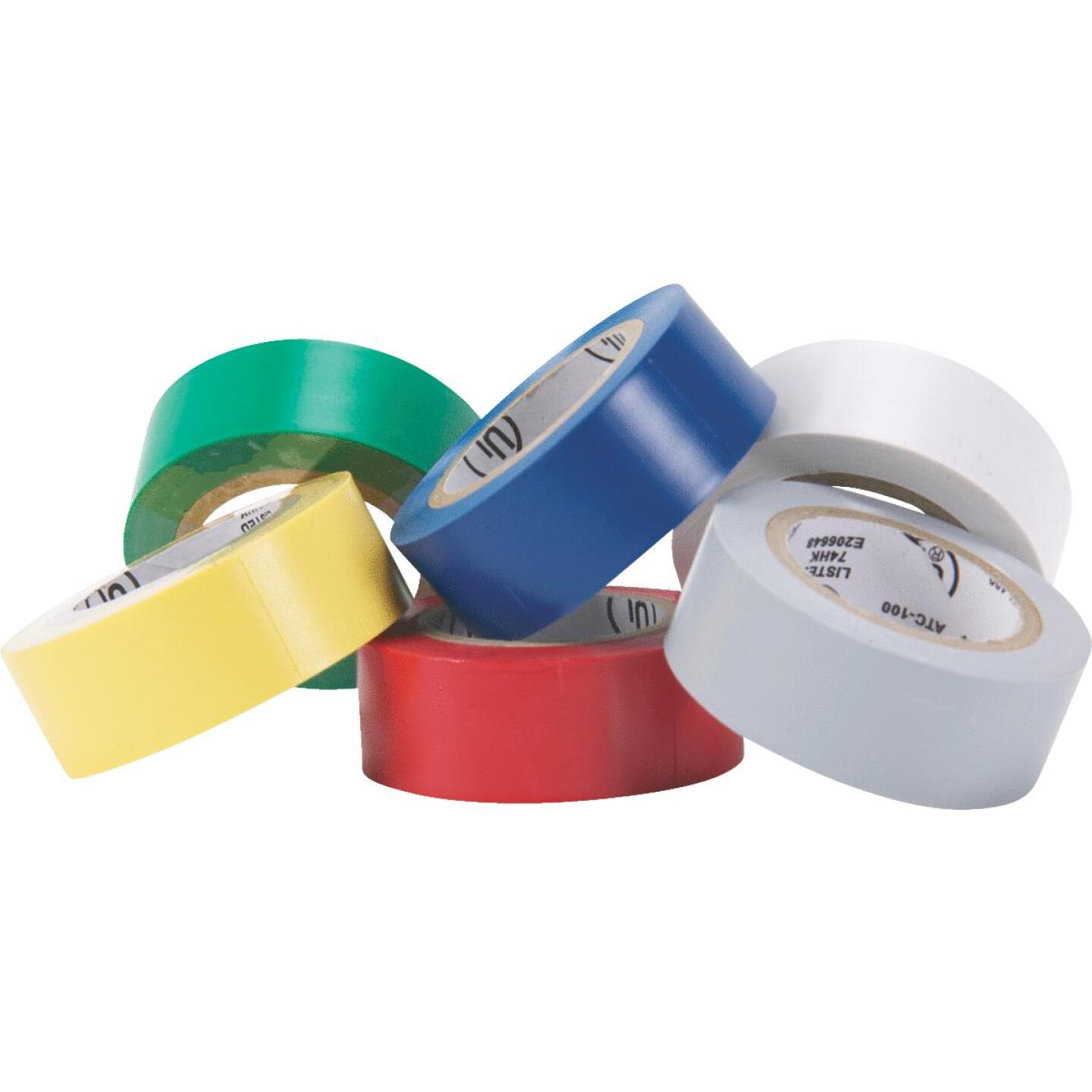 Do it General Purpose 3/4 In. x 20 Ft. Assorted Color Electrical Tape, (6-Pack) Image 1