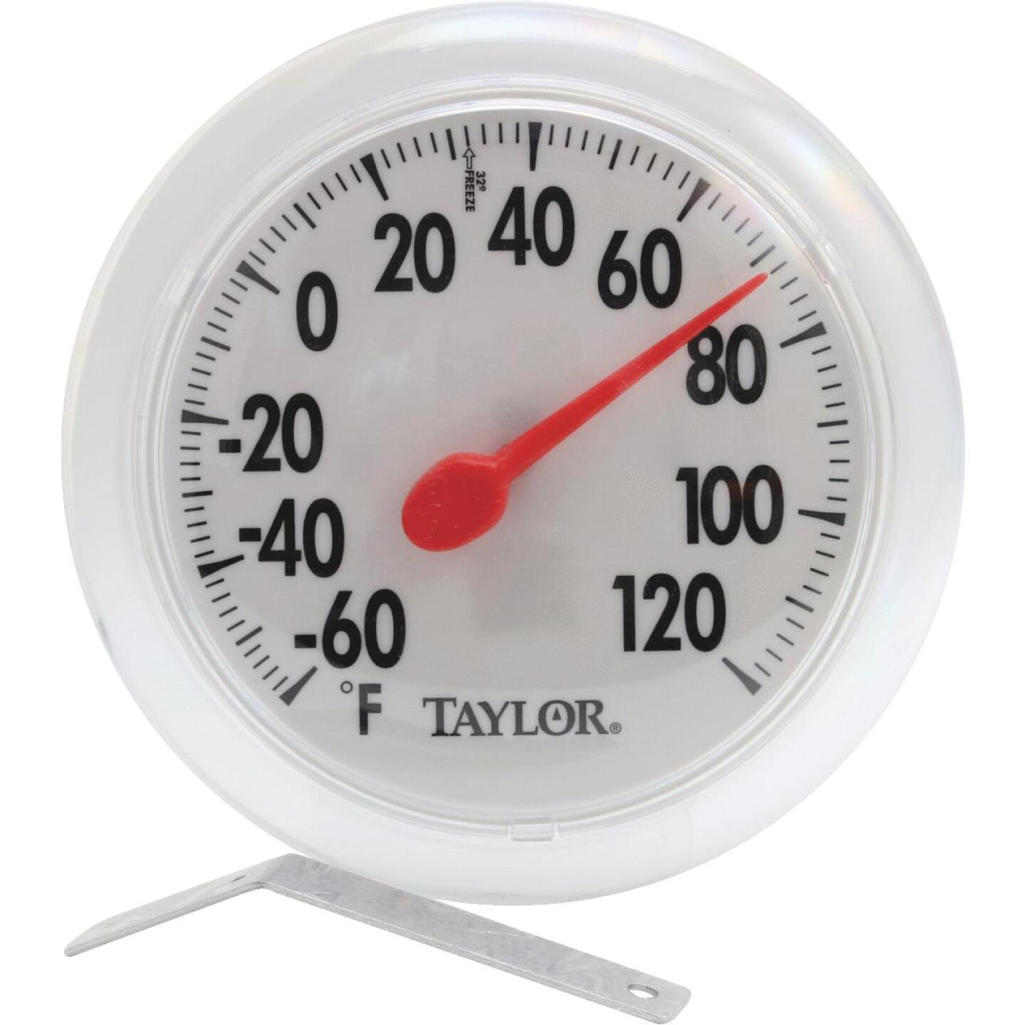 """Taylor 6"""" Fahrenheit -60 To 120 Outdoor Wall Thermometer Image 1"""