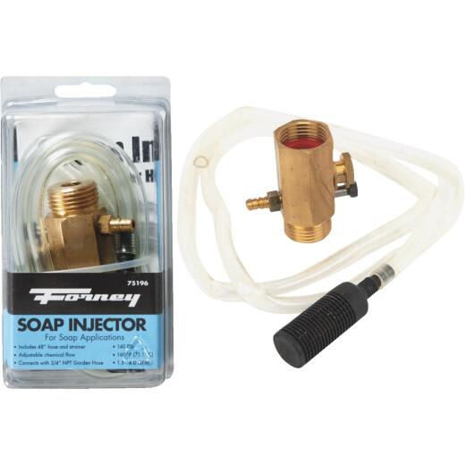 Forney Pressure Washer Detergent Injector with 48 In. Hose