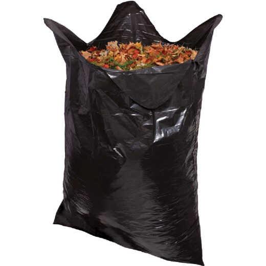 Do it Best 39 Gal. Black Flap Tie Lawn & Leaf Bag (10-Count)