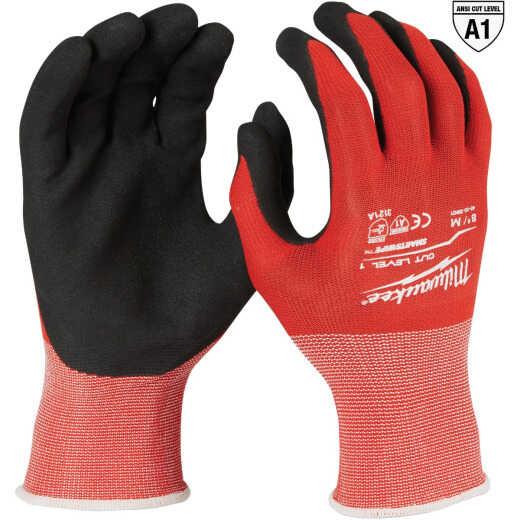 Milwaukee Unisex Medium Cut 1 Dipped Work Glove