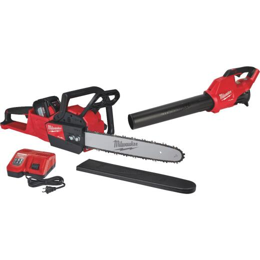 Milwaukee M18 Fuel 16 In. Chainsaw & Blower Kit