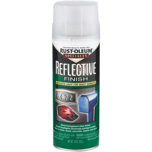 Rust-Oleum Reflective Finish 10 Oz. Spray Paint, Clear
