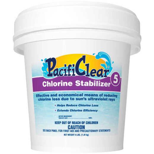 PacifiClear 4 Lb. Chlorine Stabilizer Granule