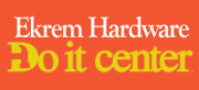 EKREM HARDWARE DO IT CENTER